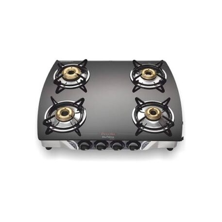 Preethi Blu Flame Glass Top 4 Burner Gas Stove